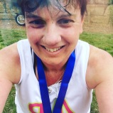 A bare minute after finishing - I did it, and smashed my pb!